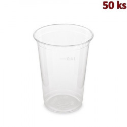 Kelímek z PET 0,4 l (Ø 95 mm) [50 ks]