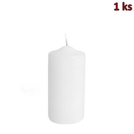 Svíčka válcová Ø 60 x 120 mm bílá [1 ks]