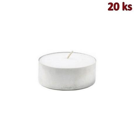 Čajové svíčky JUMBO Ø 58 mm x 22mm - 10 h. [20 ks]