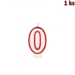 """Narozeninová svíčka číslo """"0"""" 75 mm [1 ks]"""