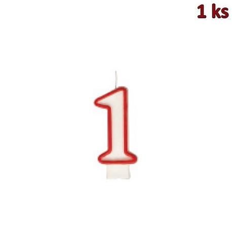 """Narozeninová svíčka číslo """"1"""" 75 mm [1 ks]"""