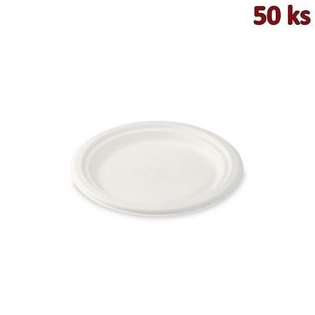 BIO talíř kulatý cukrová třtina Ø 17,5 cm [50 ks]