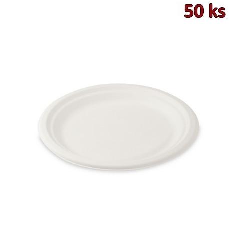 BIO talíř kulatý cukrová třtina Ø 22 cm [50 ks]