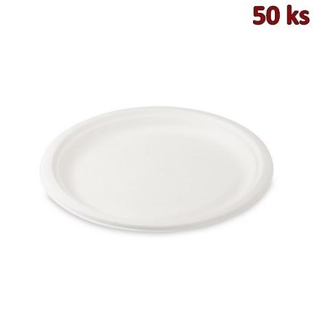 BIO talíř kulatý cukrová třtina Ø 26 cm [50 ks]