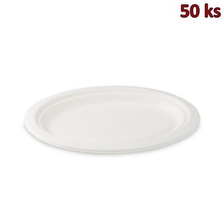 BIO talíř oválný cukrová třtina 26 x 20 cm [50 ks]