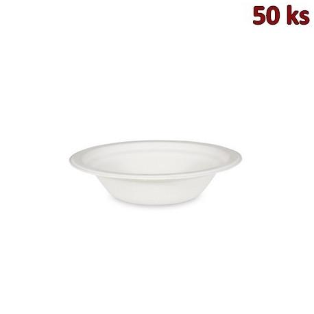 BIO miska kulatá cukrová třtina 300 ml, Ø 15 x 4,5 cm [50 ks]