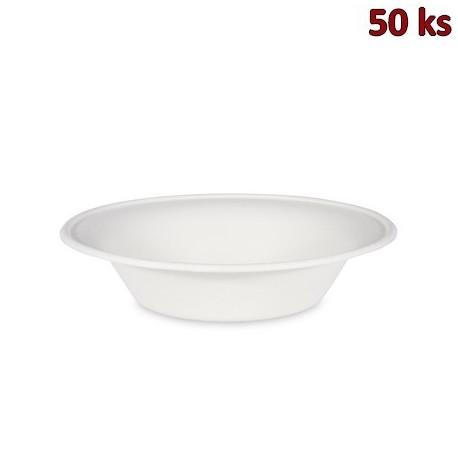 BIO miska kulatá cukrová třtina 700 ml, Ø 21 x 5 cm [50 ks]