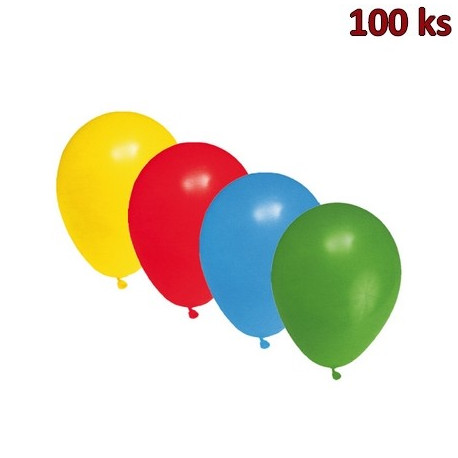 Nafukovací balónky barevné mix S [100 ks]