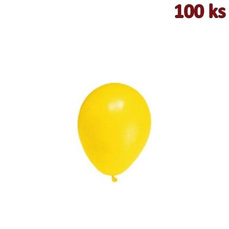 Nafukovací balónky žluté M [100 ks]