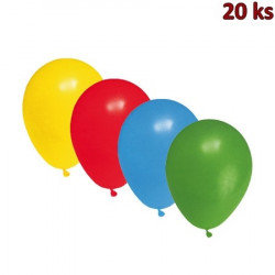 Nafukovací balónky barevné mix M [20 ks]