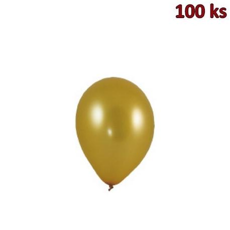Nafukovací balónky zlaté M [100 ks]