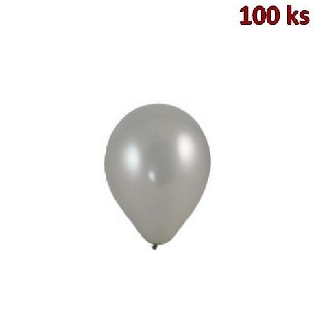 Nafukovací balónky stříbrné M [100 ks]