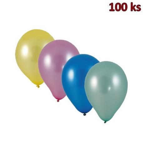 Nafukovací balónky metalíza mix M [100 ks]