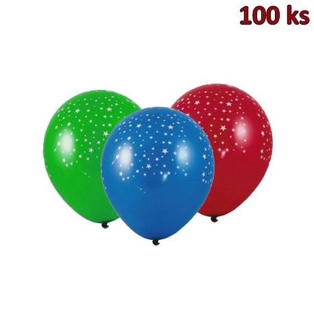 """Nafukovací balónky """"Hvězdy"""" L [100 ks]"""