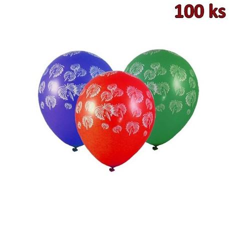 """Nafukovací balónky """"Ohňostroj"""" L [100 ks]"""