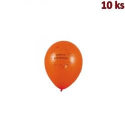 Nafukovací balónky Happy Birthday M [10 ks]