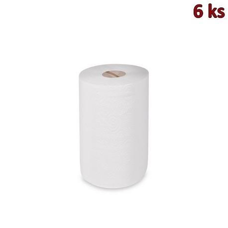 Utěrky tissue rolované 2-vr. 19 cm x 50 m (pr. 13,5 cm) [6 ks]