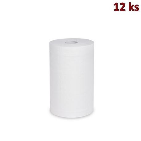 Utěrky tissue rolované 2-vr.20cm x 60m (Ø 12 cm) [12 ks]