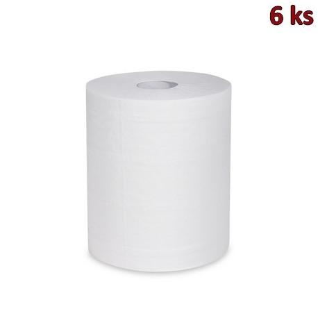 Utěrky tissue rolované 2-vr.22cm x 160m (Ø 19 cm) [6 ks]