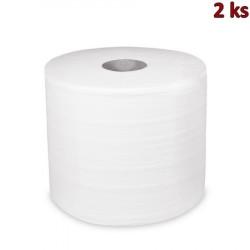 Průmyslové utěrky tissue 2-vr.24cm x 304m s ražbou [2 ks]