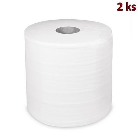 Průmyslové utěrky tissue 2-vr.26cm x 304m bez ražby [2 ks]