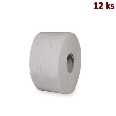 Toaletní papír JUMBO 190 mm,130 m, natural [12 ks]