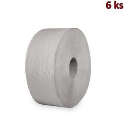 Toaletní papír JUMBO, Ø 24 cm,210 m, natural [6 ks]