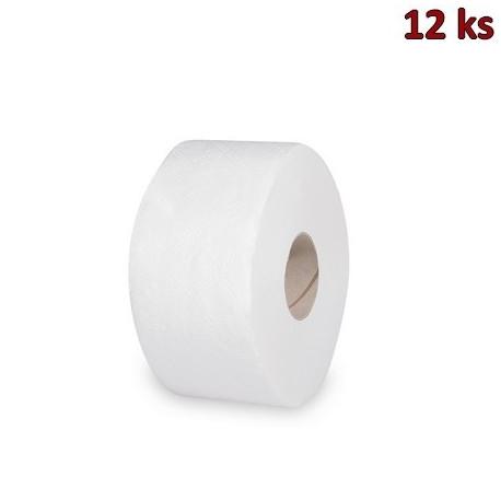 Toaletní papír tissue JUMBO 2-vrstvý Ø 18 cm 100 m [12 ks]