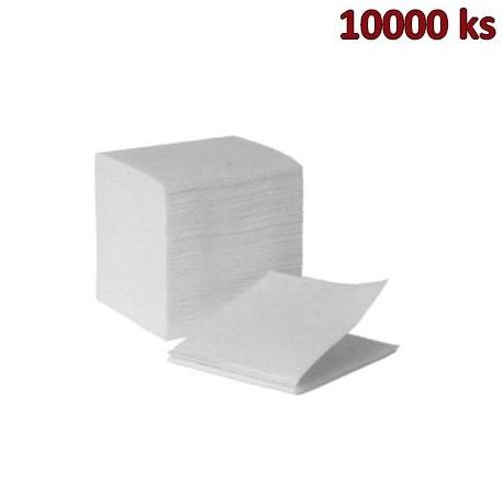 Utěrky tissue skládané, 2-vrstvé, 22 x 11 cm [10000 ks]