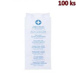 Hygienické papírové sáčky 11+6 x 28 cm [100 ks]