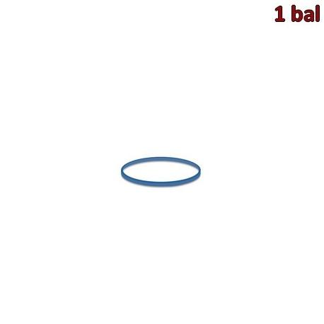 Gumičky modré slabé (1 mm, Ø 3 cm) 50 g [1 bal.]