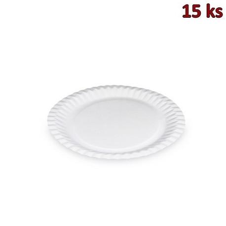 Papírové talíře mělké Ø 23 cm [15 ks]