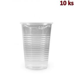 Plastový kelímek průhledný 0,3 l PP [10 ks]