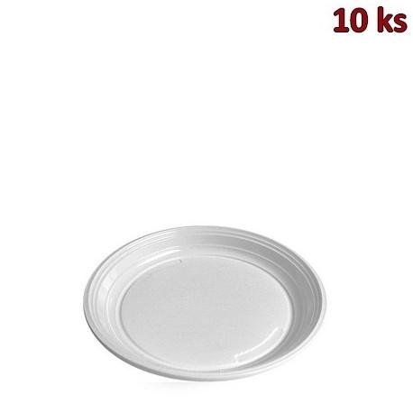 Talíř mělký, bílý PS Ø 20,5 cm [10 ks]