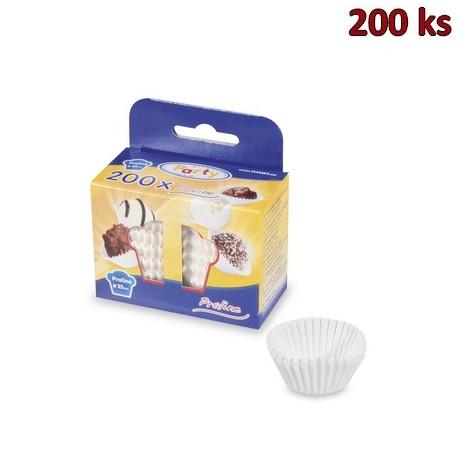Cukrářské košíčky bílé Ø 25 x 18 mm [200 ks]