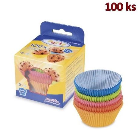 Cukrářské košíčky barevné mix Ø 50 x 30 mm [100 ks]