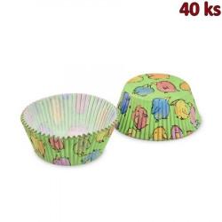 Cukrářské košíčky kuřátko Ø 50 x 30 mm [40 ks]