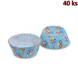 Cukrářské košíčky balónky Ø 50 x 30 mm [40 ks]