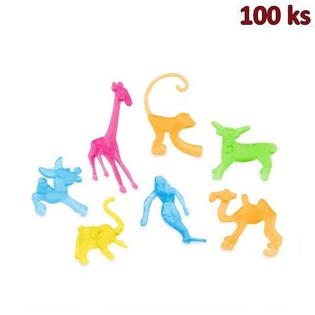 Deko figurky mix (7 druhů) [100 ks]