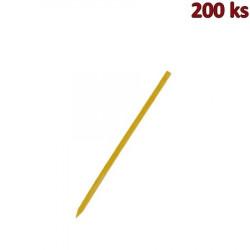 Bambusové špejle hrocené 15 cm, Ø 2,5 mm [200 ks]