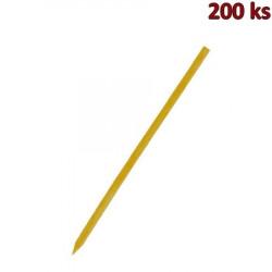 Bambusové špejle hrocené 25 cm, Ø 3 mm [200 ks]