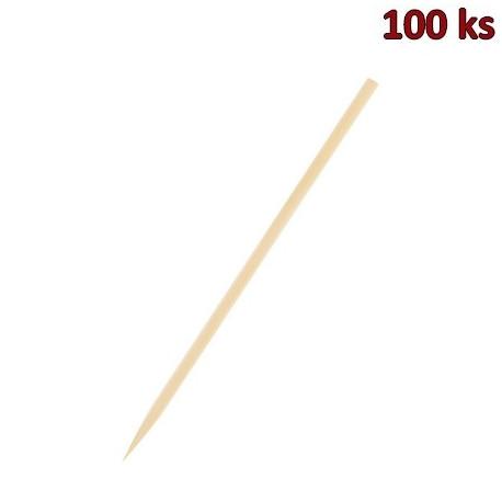 Bambusové špejle hrocené 40 cm, Ø 5 mm [100 ks]