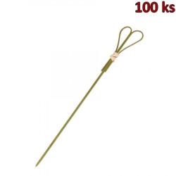Bambusové bodce SRDCE 18 cm [100 ks]