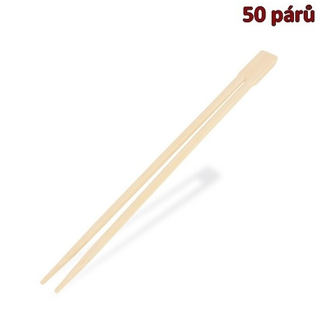 Čínské hůlky 21 cm (hyg. balené po páru) [50 páru]