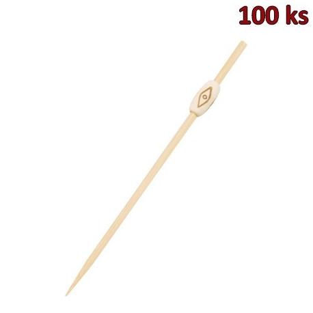 Bambusové bodce NATUR 12 cm [100 ks]