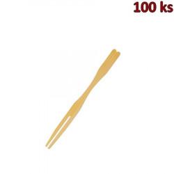 Bambusové bodce VIDLIČKA 9 cm [100 ks]
