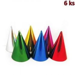 Papírové barevné kloboučky [6 ks]