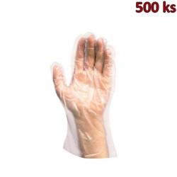 Rukavice jednorázové HDPE (vel. L) [500 ks]