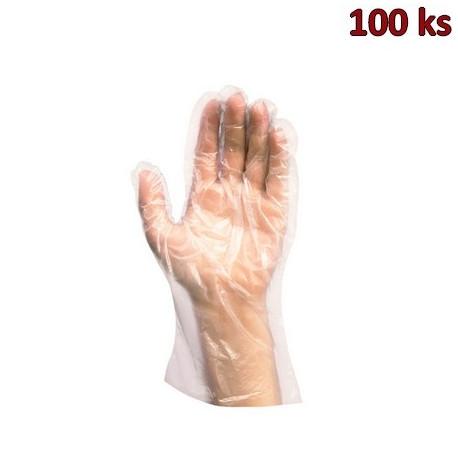 Rukavice jednorázová LDPE pro muže (velikost L) [100 ks]