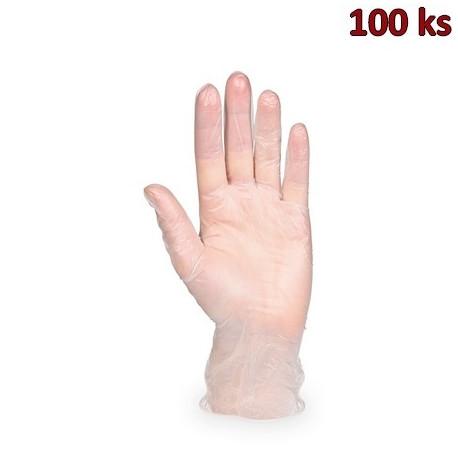 Vinylové rukavice s pudrem XL [100 ks]